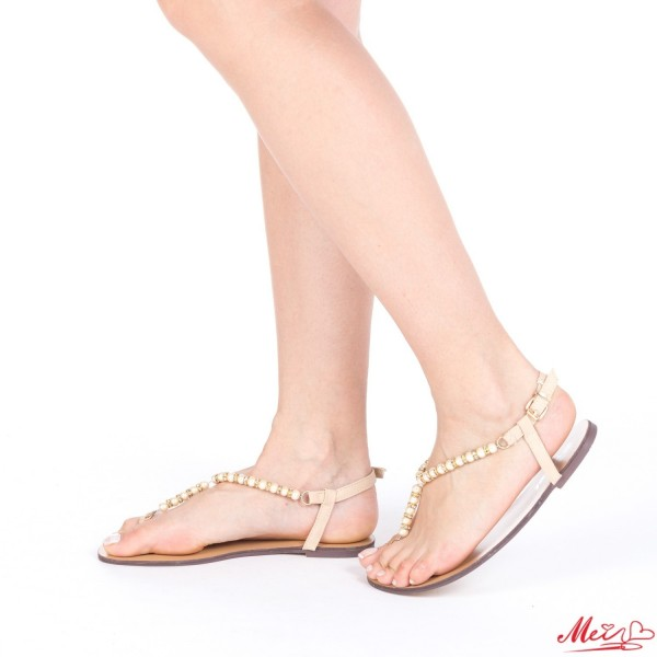 Sandale Dama HG128 Beige Mei