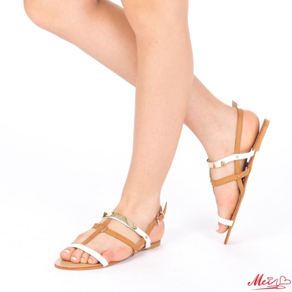 Sandale Dama HG133 White Mei