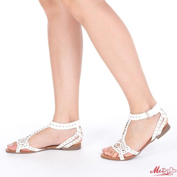 Sandale Dama HG136 White Mei
