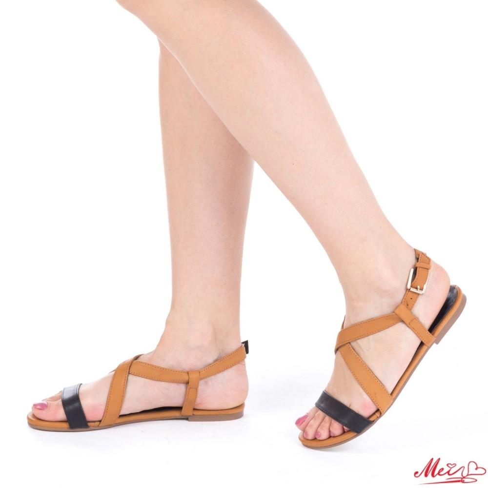 Sandale Dama HL199 Black-Camel Mei