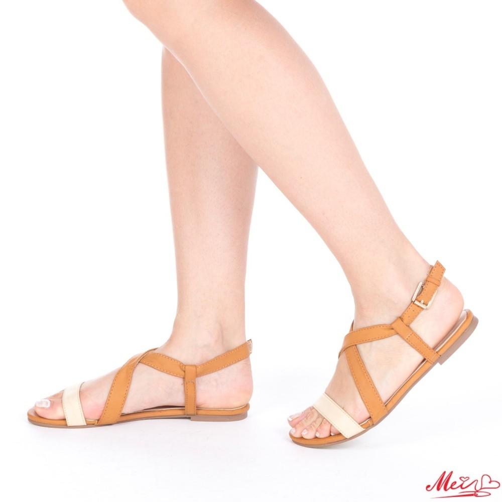 Sandale Dama HL199 Beige-Camel Mei
