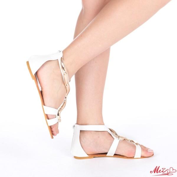 Sandale Dama HL303 White Mei
