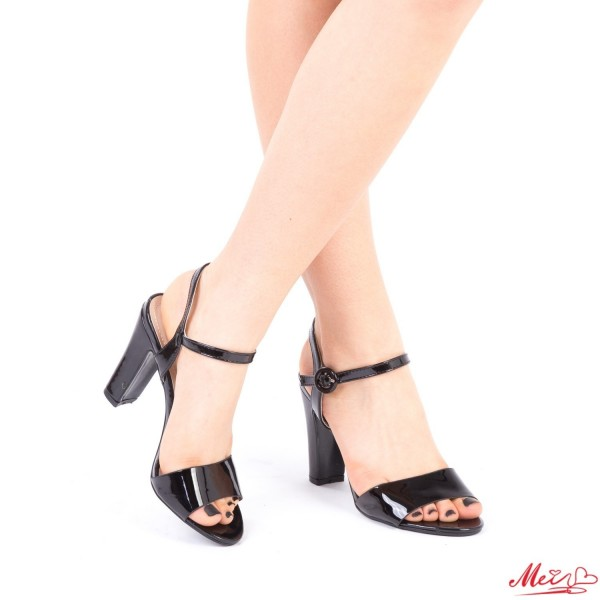 Sandale Dama cu Toc HX2 Black Mei