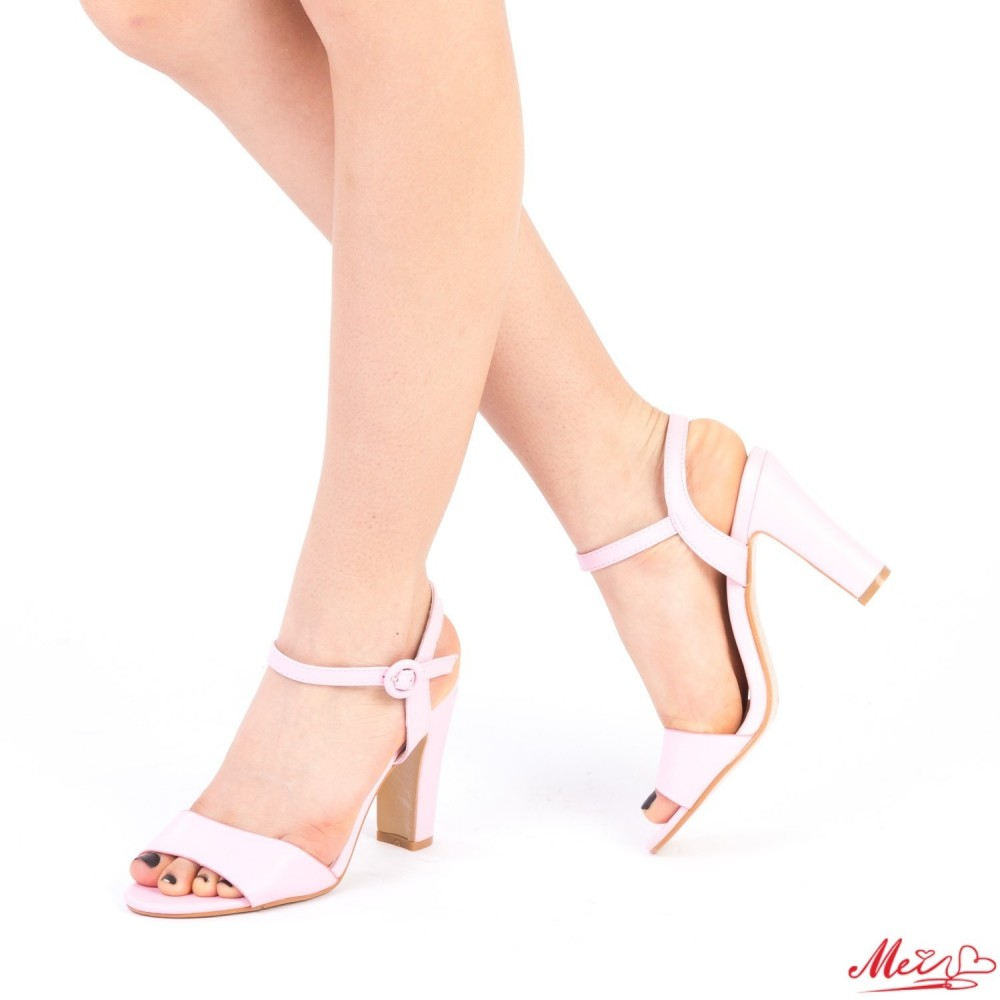 Sandale Dama cu Toc HX2C Pink Mei
