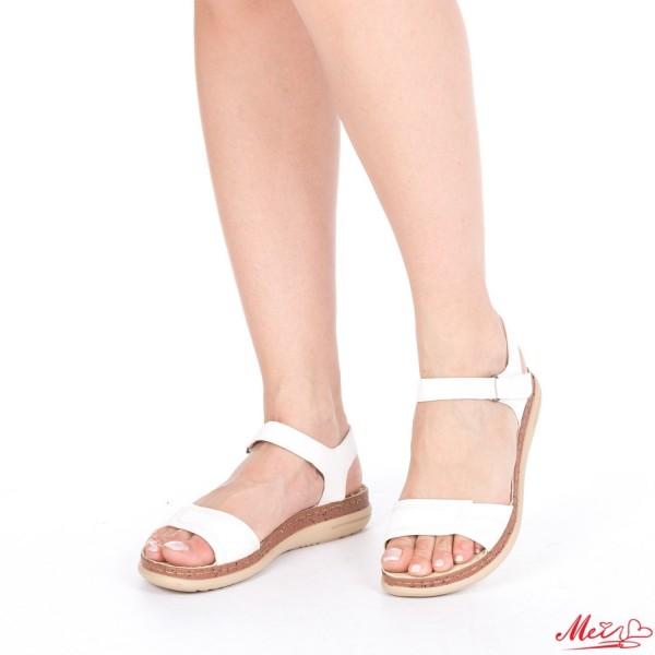 Sandale Dama J115 White Mei