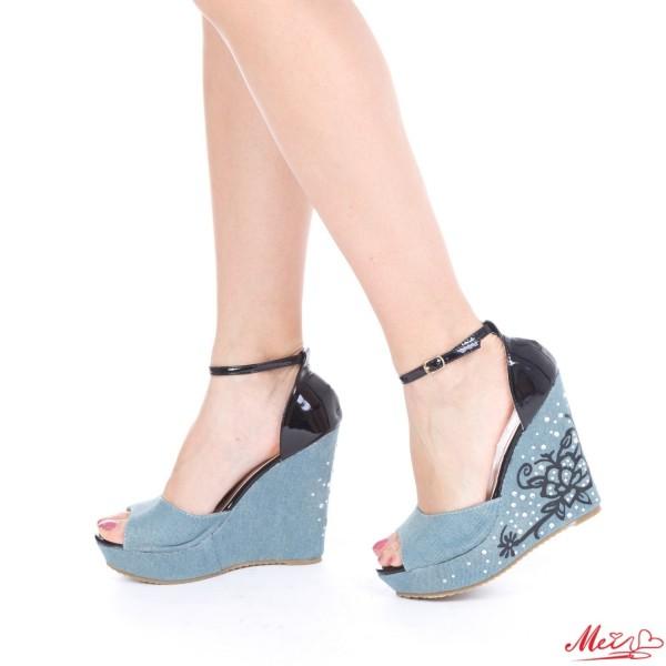 Sandale Dama J119 Black Mei