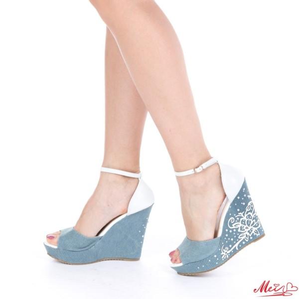 Sandale Dama J119 White Mei