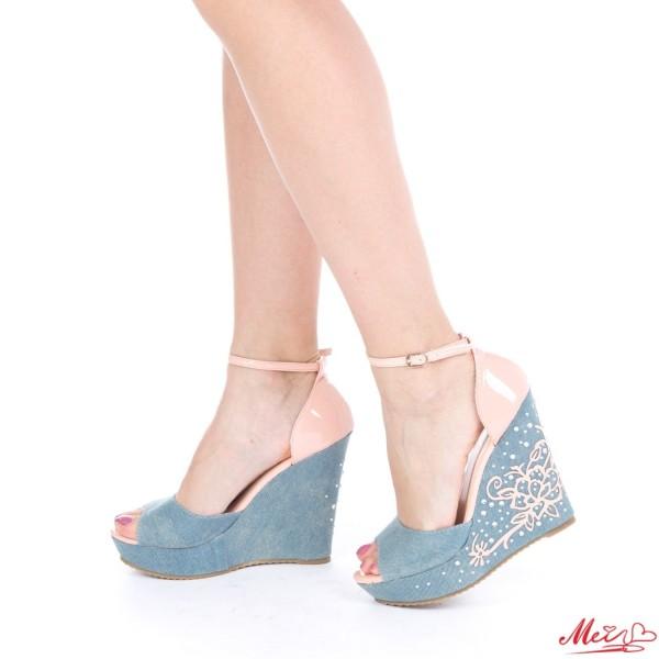 Sandale Dama J119 Pink Mei