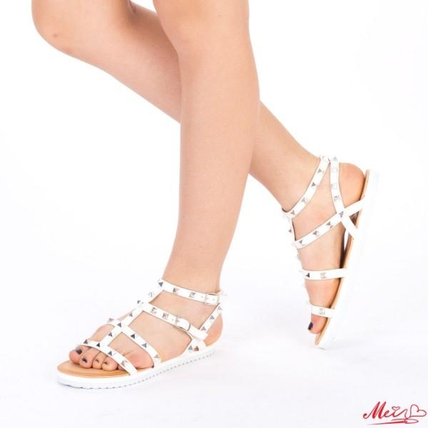 Sandale Dama JZF2 White Mei