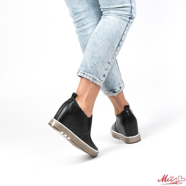 Pantofi Sport Dama cu Platforma K239 Black Mei
