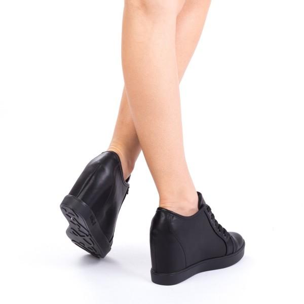 Pantofi Sport Dama cu Platforma K25-1 Black Mei