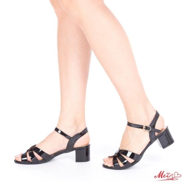 Sandale Dama cu Toc KG2 Black Mei