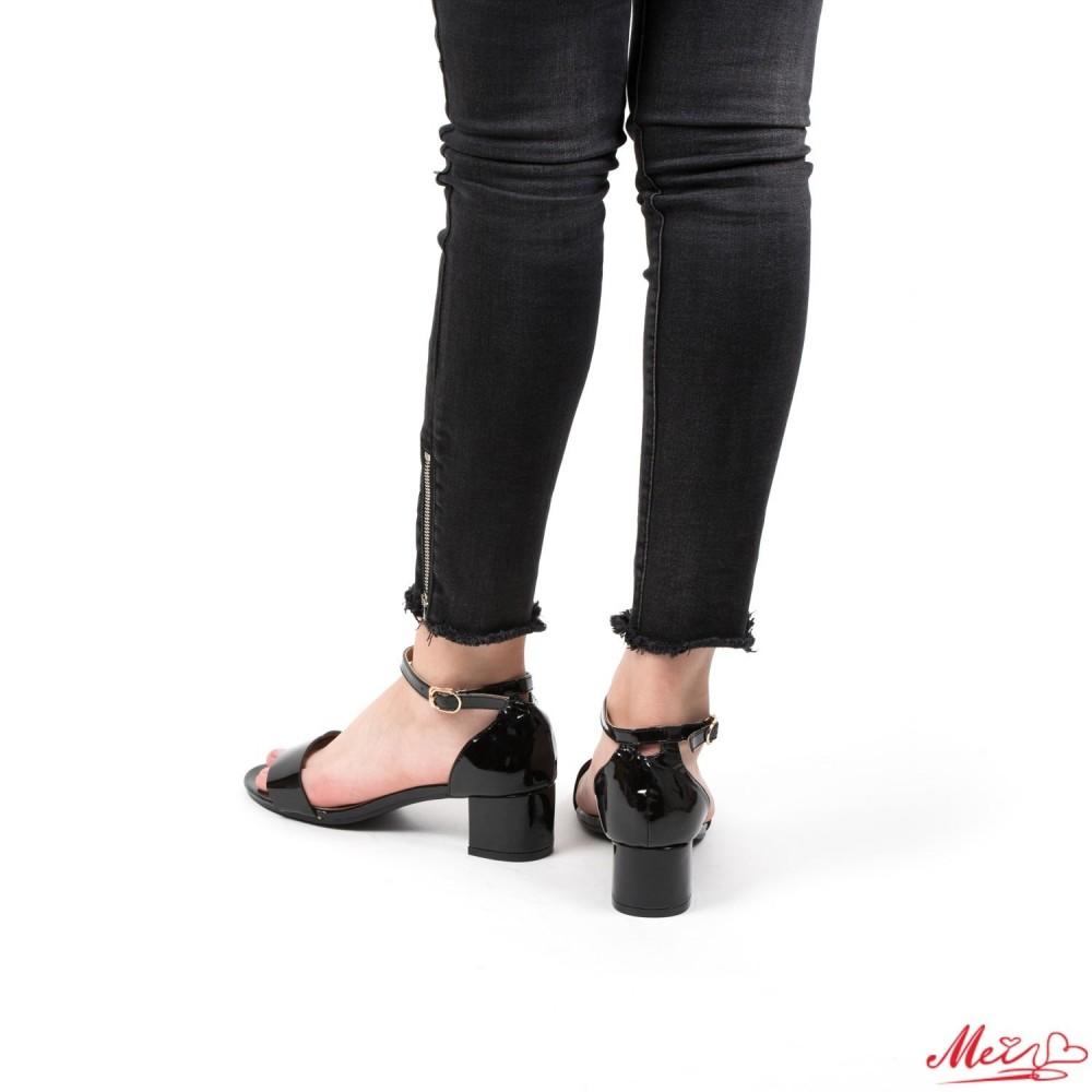 Sandale Dama cu Toc KG3 Black Mei
