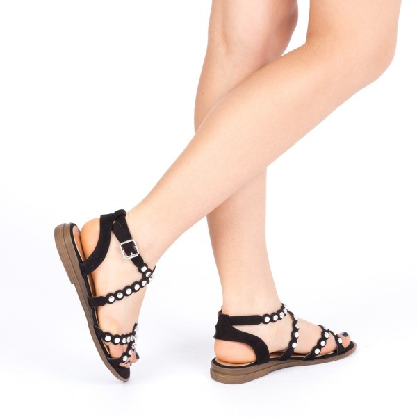 Sandale Dama cu Toc KG6 Black Mei