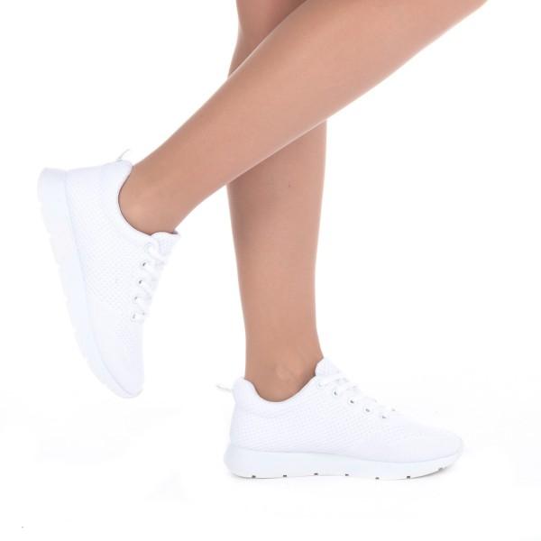 Pantofi Sport Dama KH8 White Mei