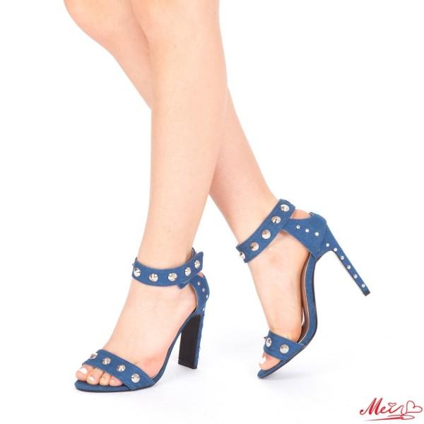 Sandale Dama cu Toc KS1 Blue Mei