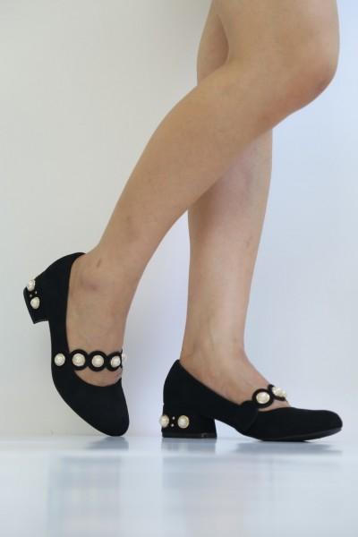 Pantofi cu Toc LE51 Black Mei