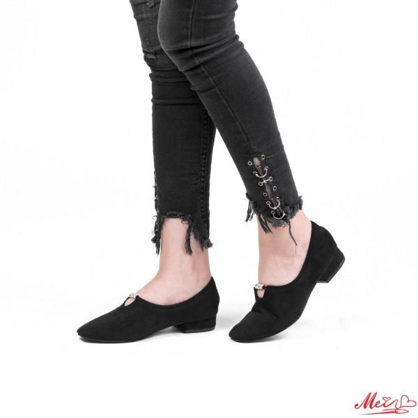 Pantofi Casual Dama LE52 Black Mei