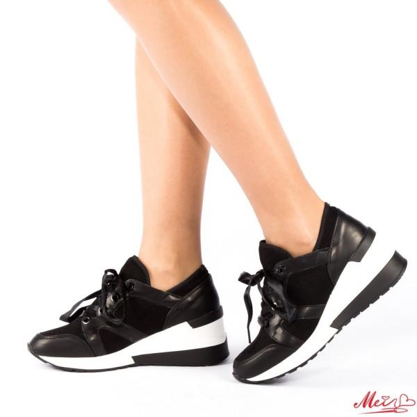 Pantofi Sport Dama LE58 Black Mei