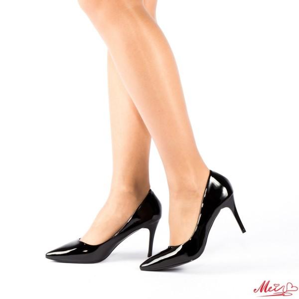 Pantofi cu Toc LLH6 Black Mei