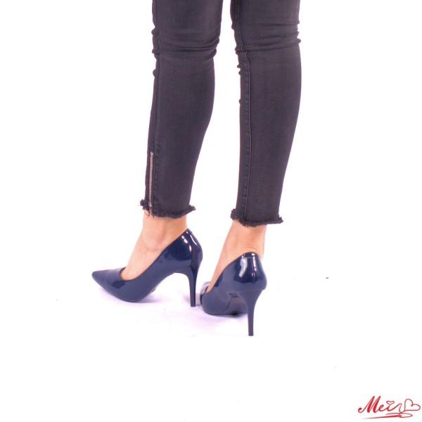Pantofi cu Toc LLH6 Dark Blue Mei