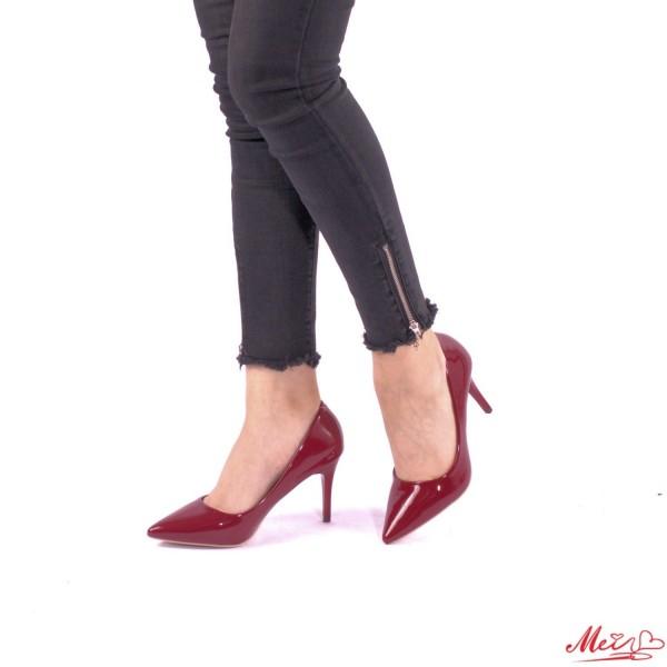 Pantofi cu Toc LLH6 Winered Mei