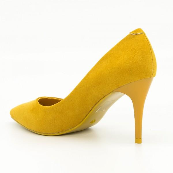 Pantofi cu Toc LLH8 Yellow Mei