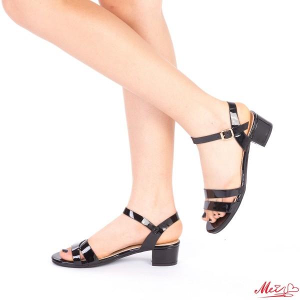 Sandale Dama cu Toc LM105 Black Mei