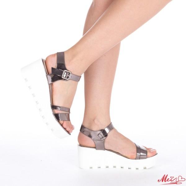 Sandale Dama cu Platforma LM118 Guncolor Mei