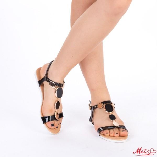 Sandale Dama LM121 Black Mei