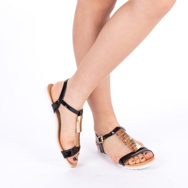 Sandale Dama LM122 Black Mei