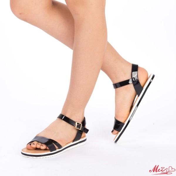 Sandale Dama LM128 Black Mei