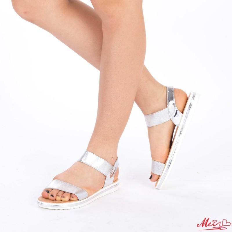 Sandale Dama LM158 Silver Mei