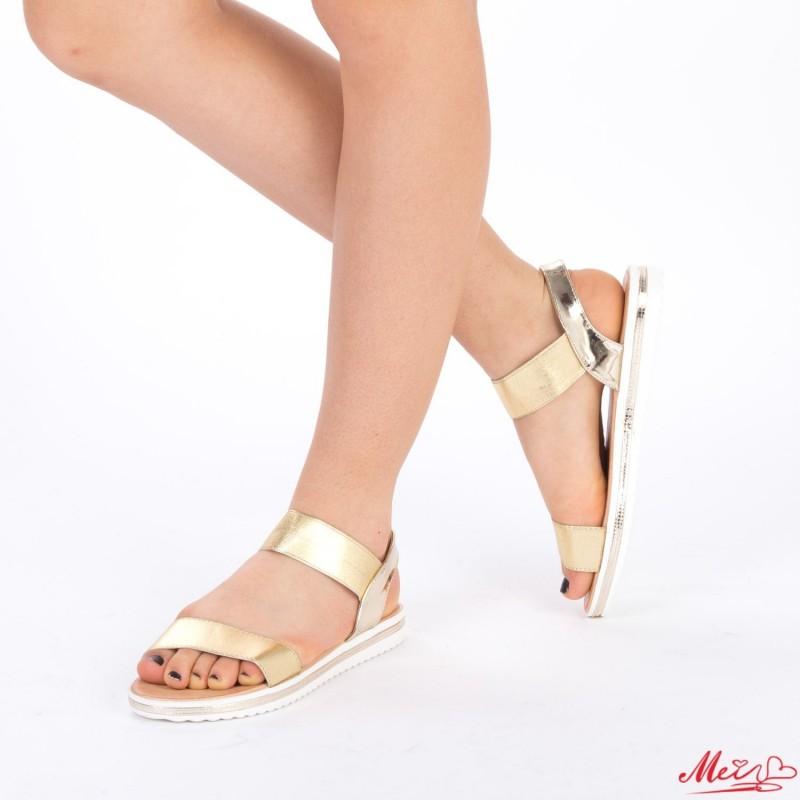 Sandale Dama LM158 Gold Mei