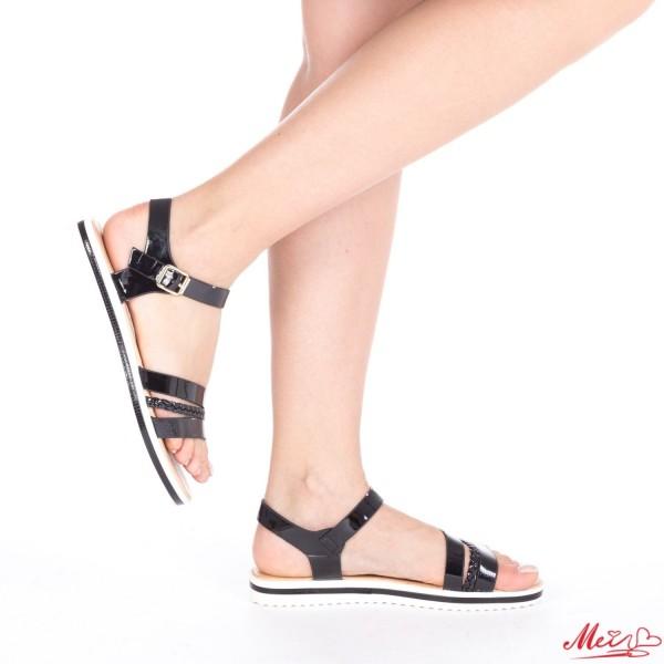 Sandale Dama LM162 Black Mei