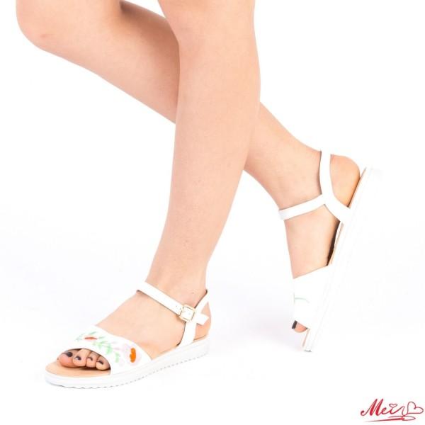 Sandale Dama LM169 White Mei