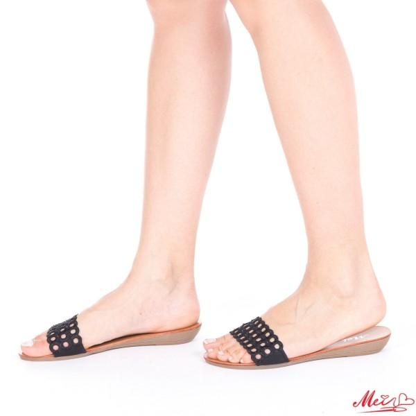 Papuci Dama LM179 Black Mei