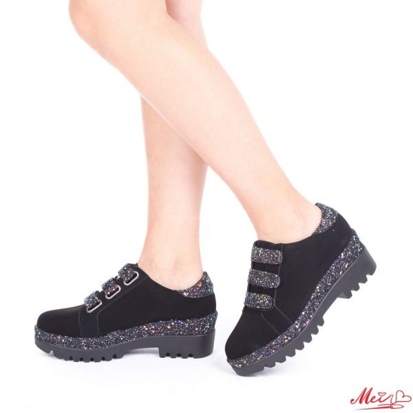 Pantofi Sport Dama LM201 Black Mei