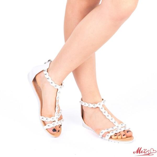 Sandale Dama LM212 White Mei