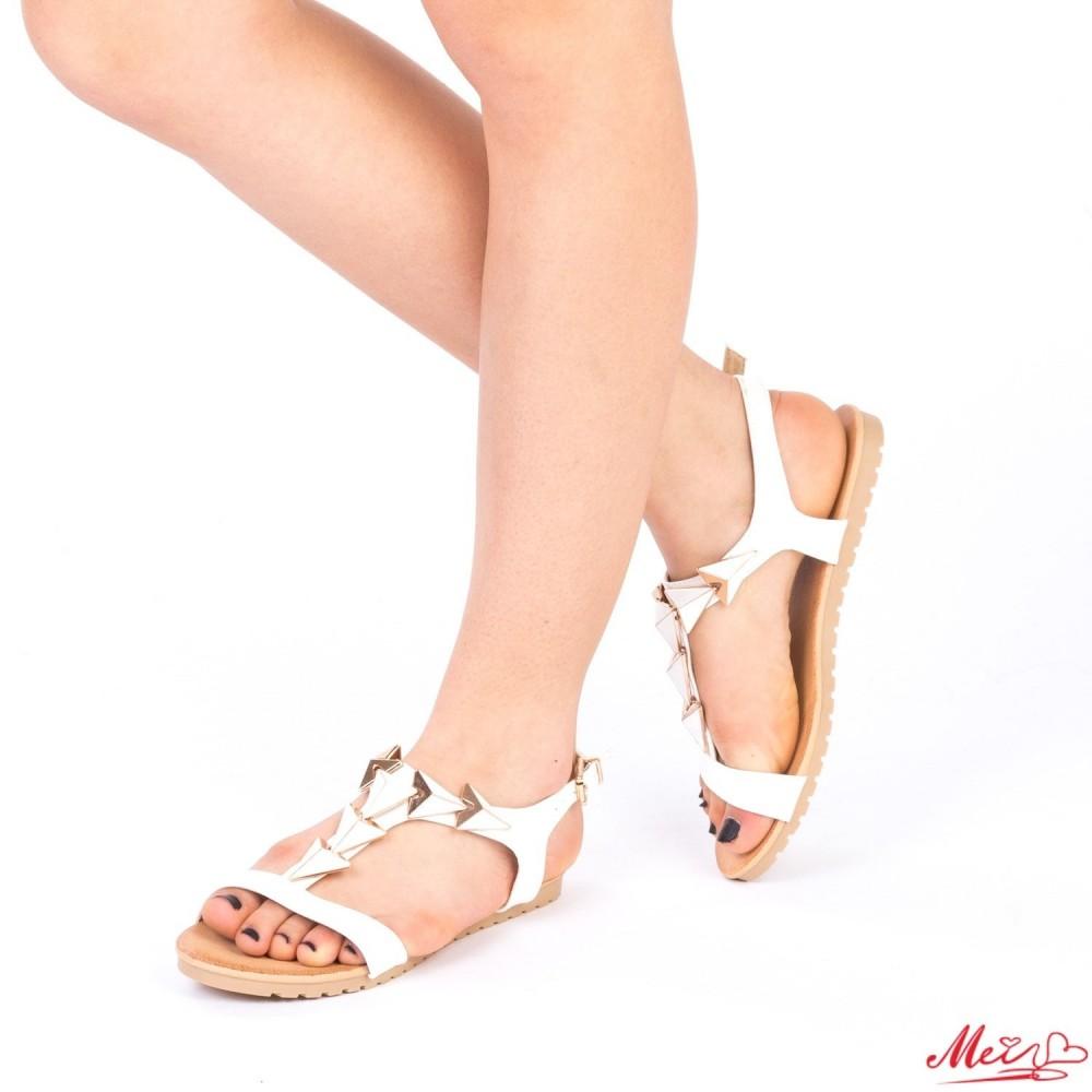 Sandale Dama LM220 White Mei