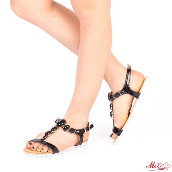 Sandale Dama LM221 Black Mei