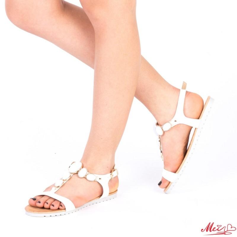 Sandale Dama LM221 White Mei