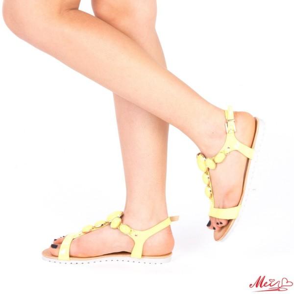 Sandale Dama LM221 Yellow Mei