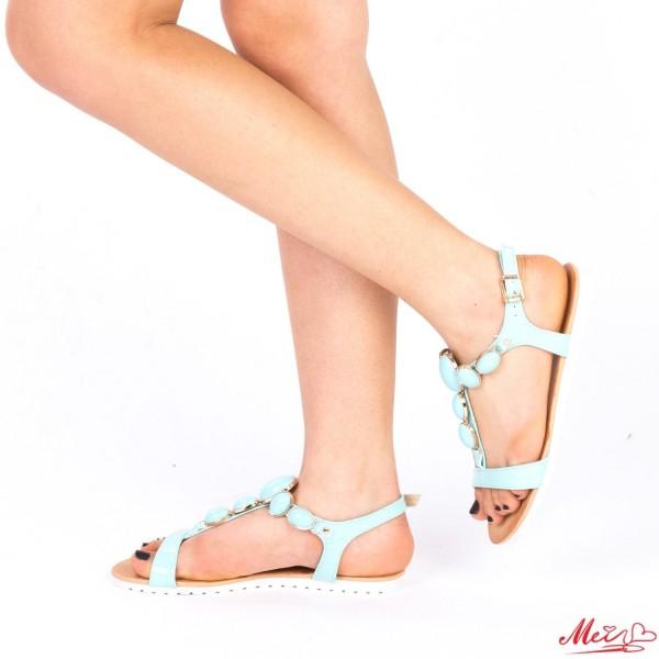 Sandale Dama LM221 Light Blue Mei