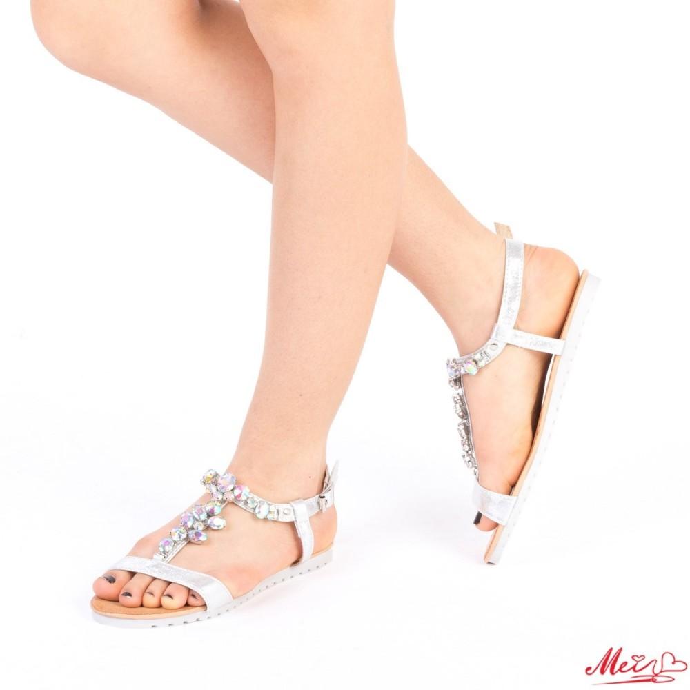 Sandale Dama LM222 Silver Mei