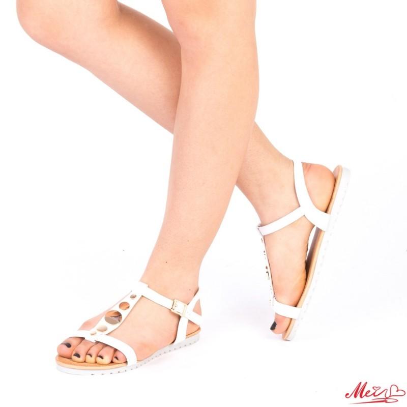 Sandale Dama LM228 White Mei