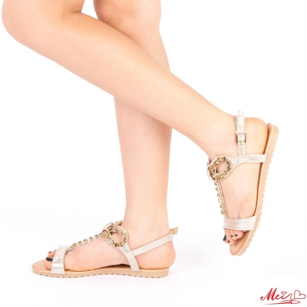 Sandale Dama LM230 Gold Mei