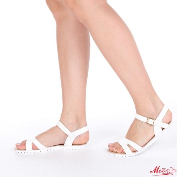 Sandale Dama LS2 White Mei