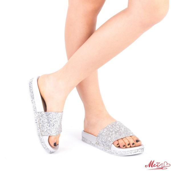 Papuci Dama LS3 Silver Mei