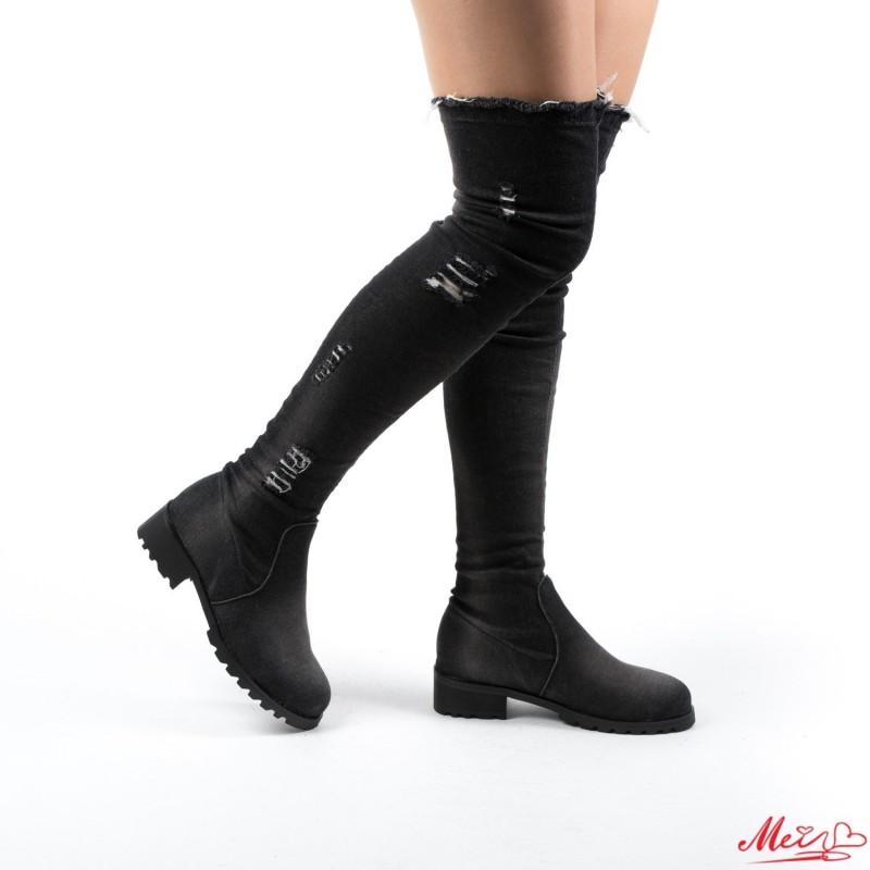 Cizme Dama MX17 Black Mei